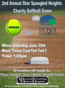 Charity Softball Game @ Thomas Cloud Memorial Park