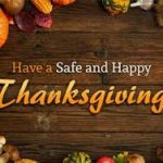 Happy Thanksgiving from the Huber Heights Chamber of Commerce