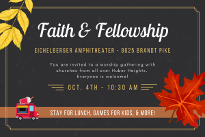 Faith & Fellowship Worship Gathering @ Eichelberger Amphitheater