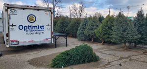 Optimist Club of Huber Heights Christmas Tree Lot @ Huber Center