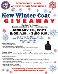 Veteran New Winter Coat Giveaway @ Kindred Hospital