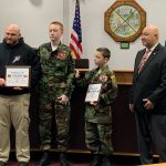 Miami Valley Young Marines Receive Award from Military and Veterans Commission