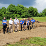 Groundbreaking For Huber Heights Skate Park and BMX Track